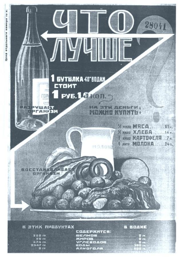 Из журнала Трезвость и культура №2 1928 год
