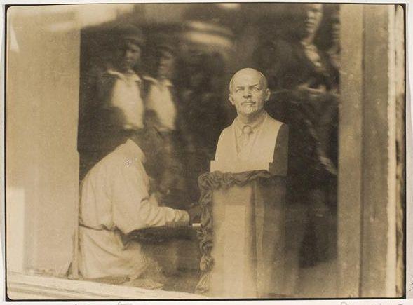 Маргарет Уоткинс  Витрина магазина, Москва, 1933 год