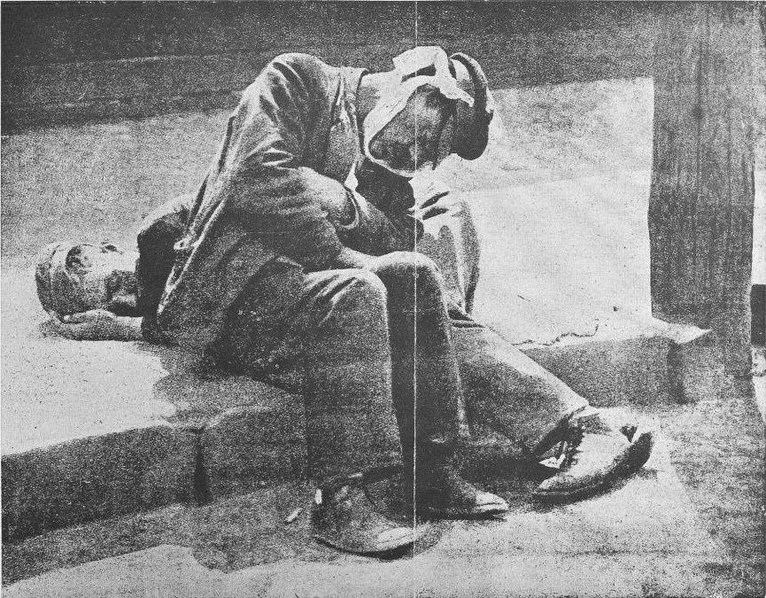 На набережной Ленинграда 1926 год