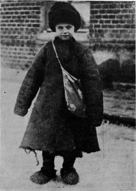 В школу  из журнала Иллюстрированная Россия №47  за 1929  год