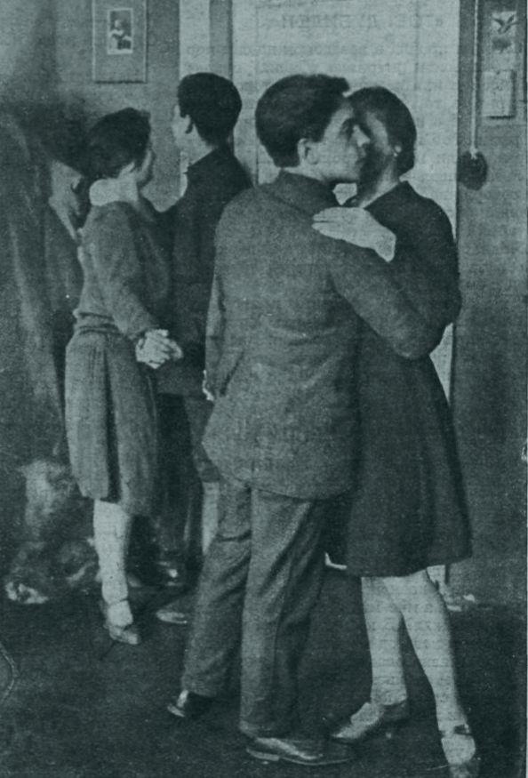 Танцы журнал Смена 1929 №10