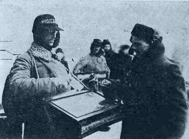 Уличный продавец папирос в Москве 1923-1924 гг