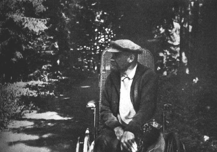 Ленин в Горках, лето 1923 г.