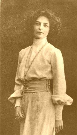 Зинаида Гиппиус, фото 1904 года