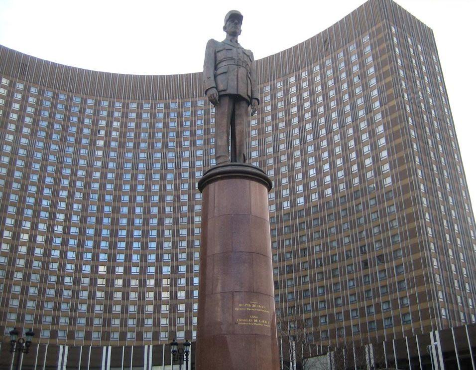 Зураб Церетели Памятник генералу де Голлю
