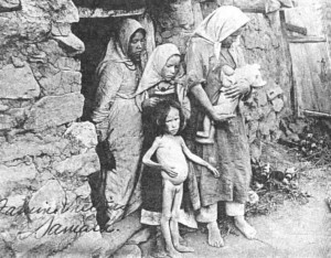 Жертвы голода, из архива института Гувера