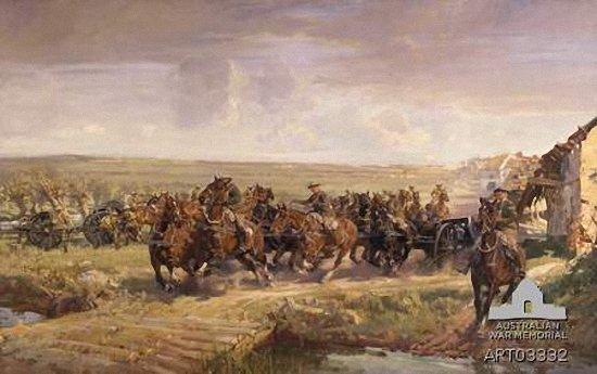 конная артиллерия