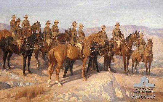 легкая кавалерия в палестине