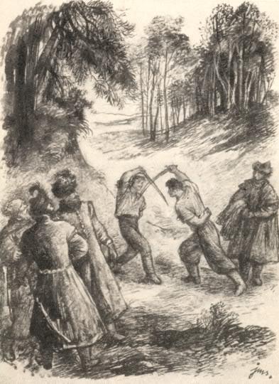 Фехтование на саблях