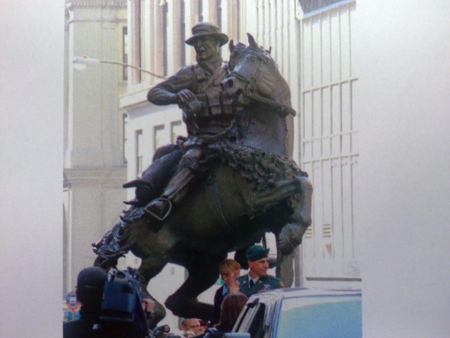Памятник рейнджерам США