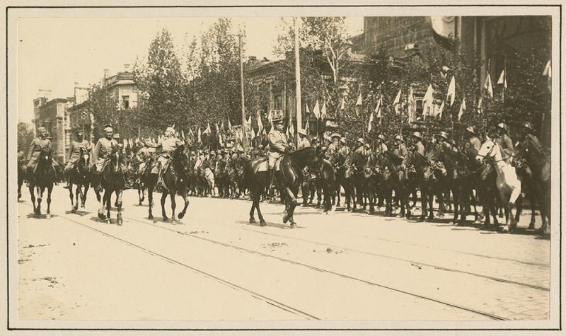 Германцы в Таганроге 1918 год.