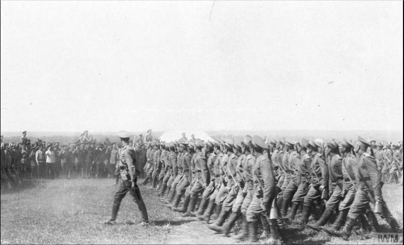 Казачья пехота - стрелковые части.