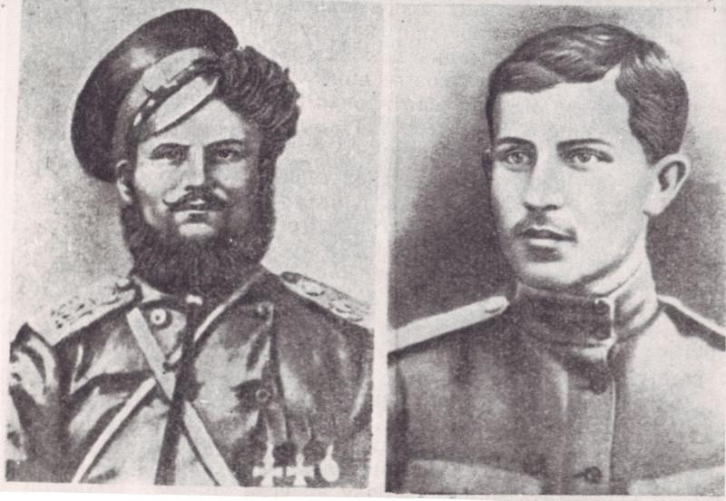 Подтёлков и Кривошлыков