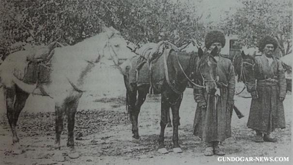 Туркмены конного дивизиона