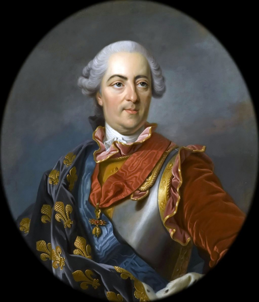 Людовик XV Король Франции.