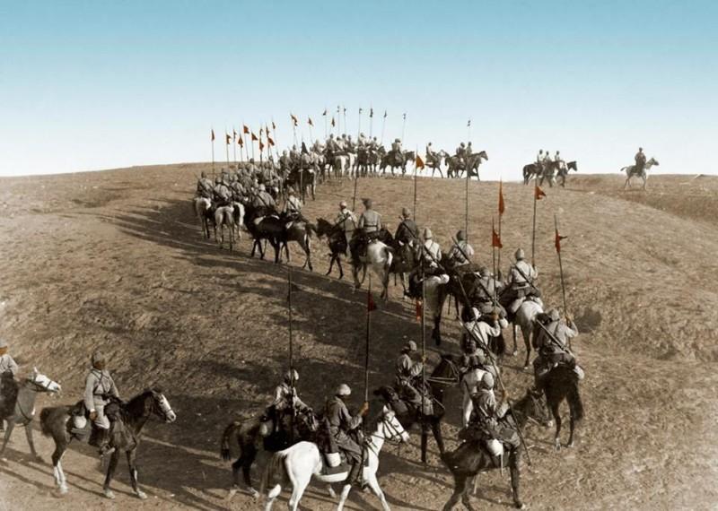Османская кавалерия на марше