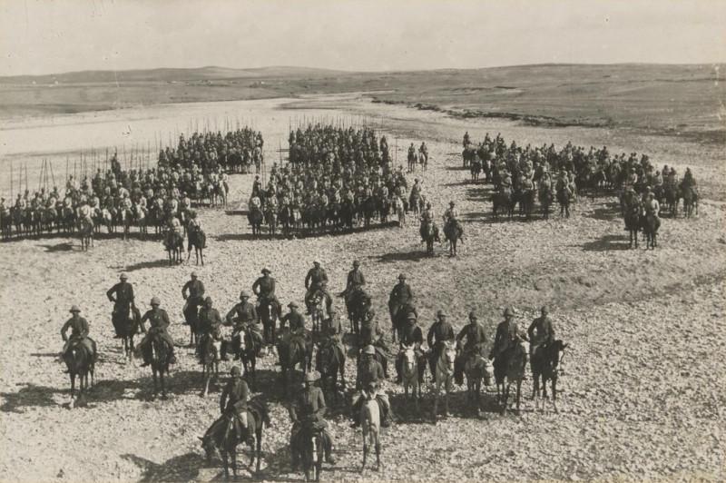 Османская кавалерия в Палестине