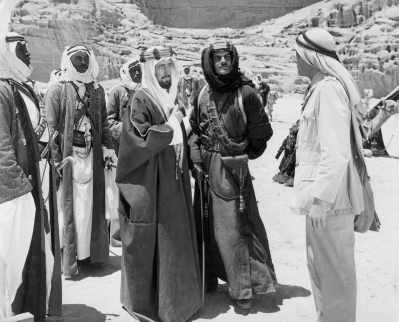 Стоп кадр из фильма Лоуренс Аравийский
