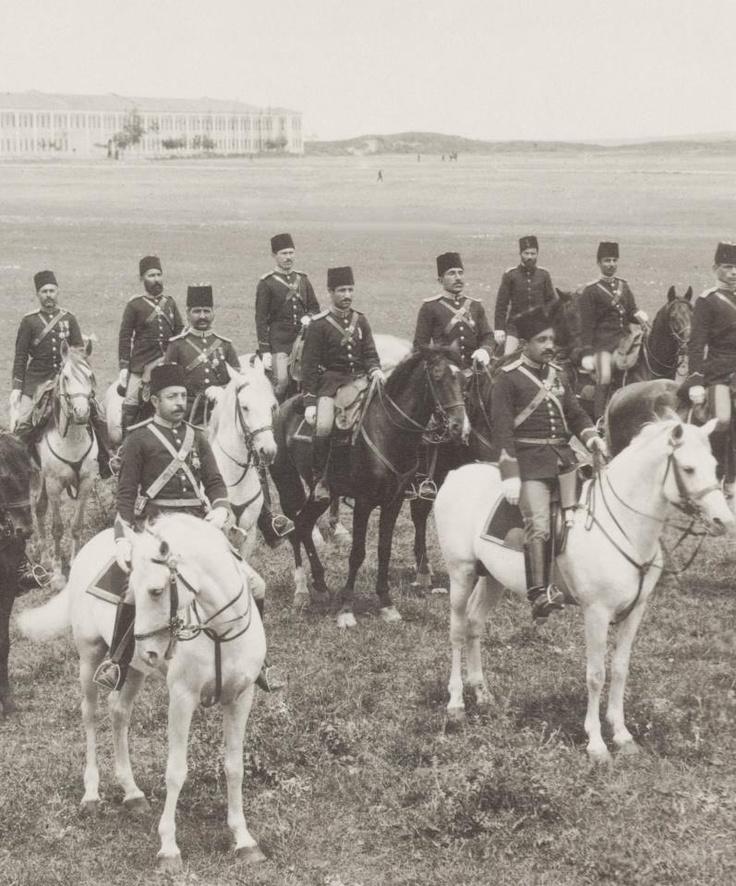 Османские кавалеристы