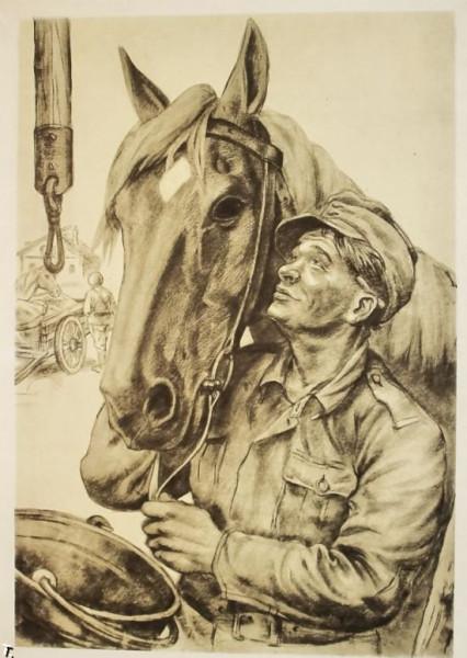 Финн с лошадью