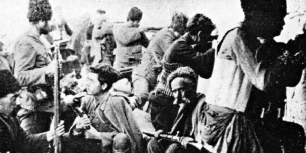 Армянские повстанцы.