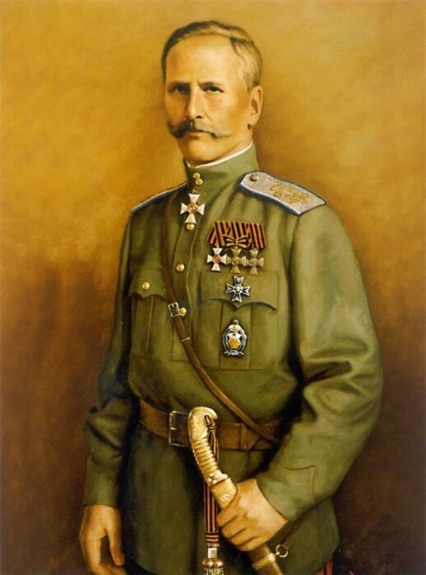 Командир Третьего конного корпуса граф Келлер.