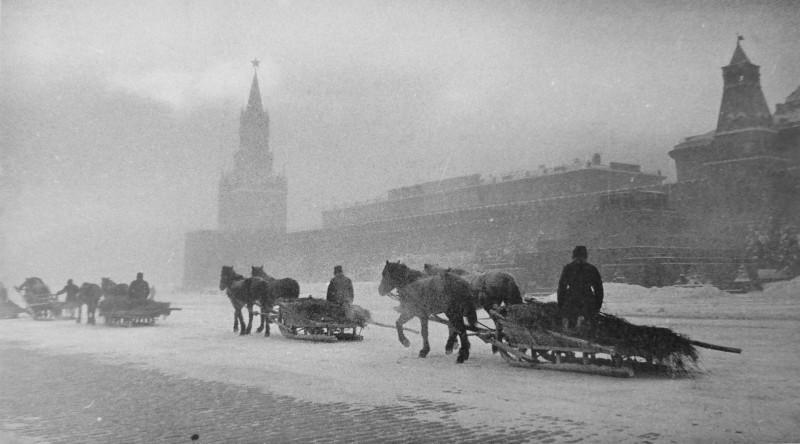 Холодная зима 1941 года.