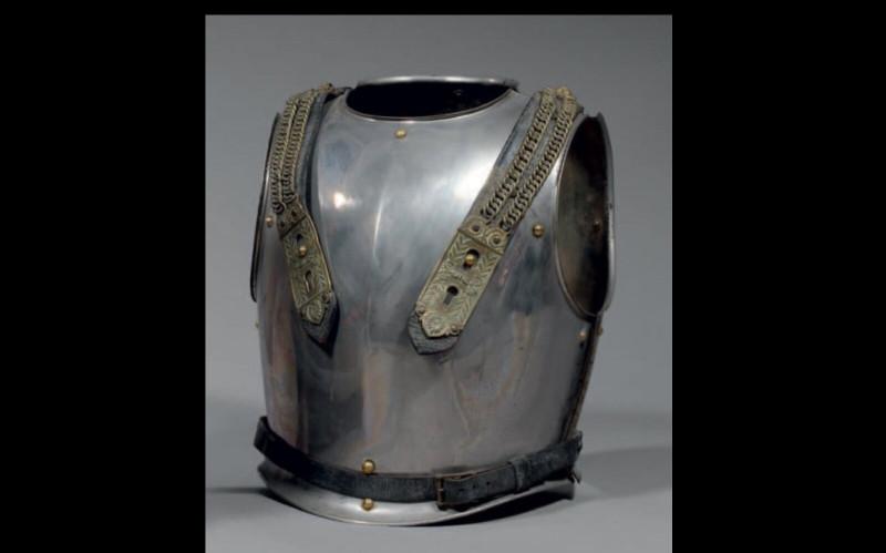 Кираса хром - никель коней 19 века.
