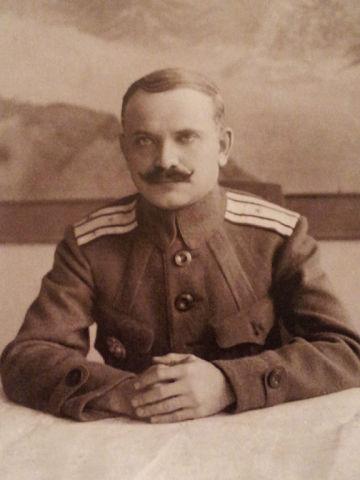 Полклвник Ф.И. Ситников.
