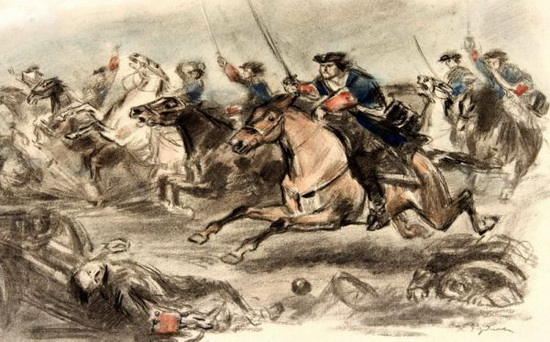 Шведские кавалеристы