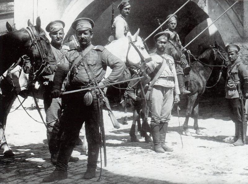 Фото донских казаков времён ПМВ