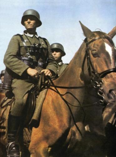 кавалерист вермахта