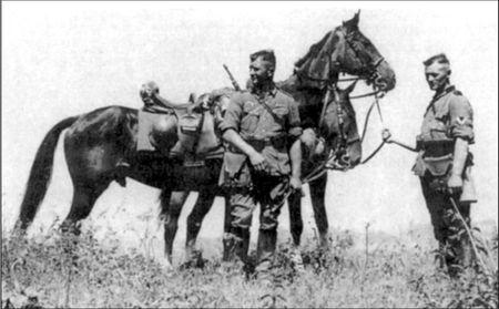 кавалерия вермахта