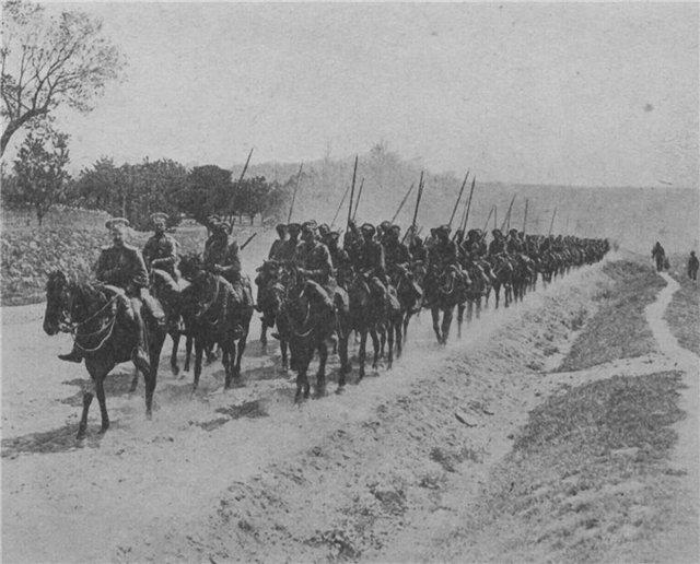 Русская кавалерия 1
