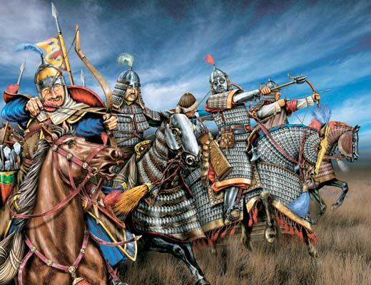 Монголо татары.