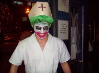 The Joker makes an appearance.