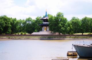 London Peace Pagoda-Battersea Park