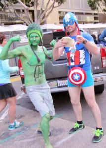 Hulk and Cap