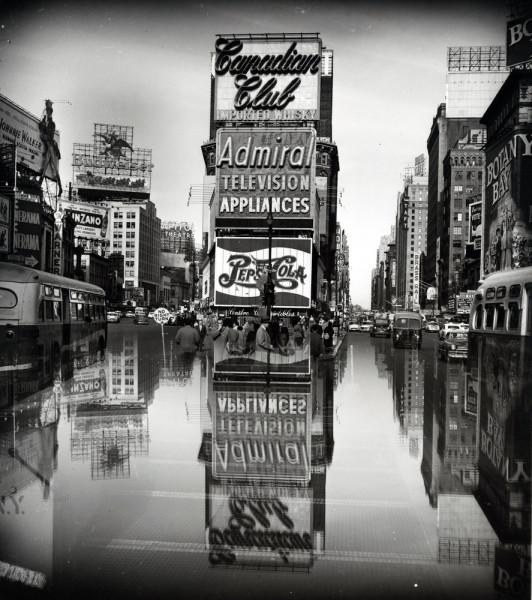 Таймс-Сквер, взляд в одну сторону. 1952-1965. Адмирал.