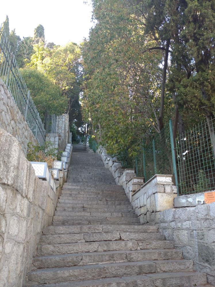 Алупка это много лестниц и крутых подъемов, за 4 дня можно привыкнуть