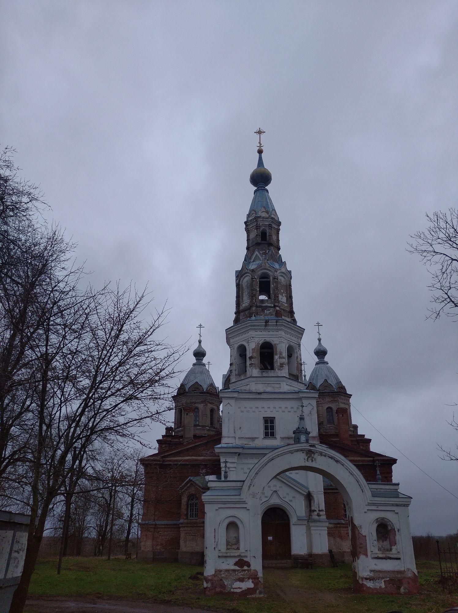 Церковь в Старополье