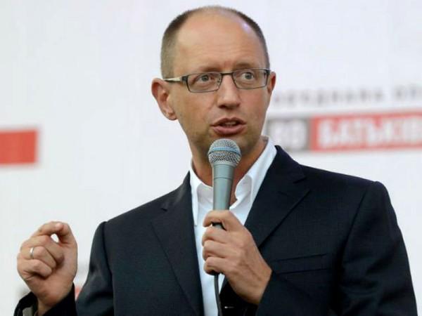 Арсений Яценюк, лидер партии