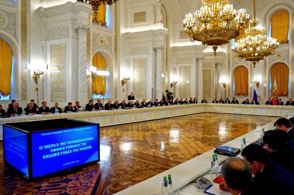 путин президент россии; заседание госсовета