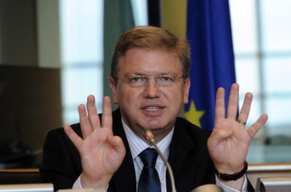 оппозиция в украине; фюле о ситуация в украине