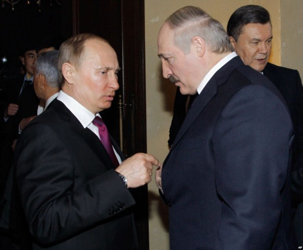 россия и белоруссия; путин и лукашенко