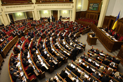 оппозиция на украине; верховная рада