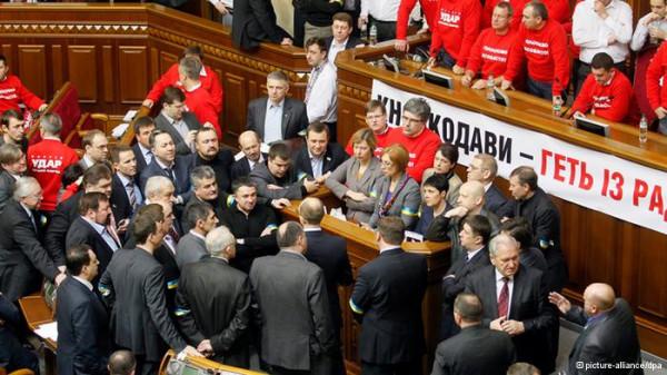 украина новости; оппозиция блокирует президиум