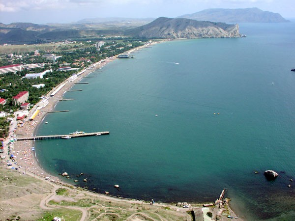 украина ес; побережья Крыма