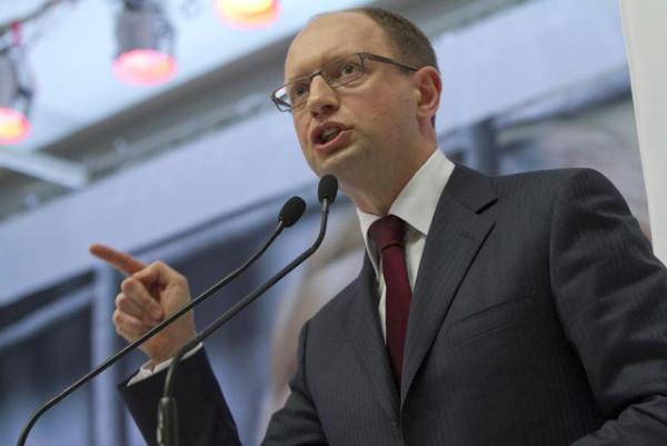 оппозиция на украине; Яценюк призывает к продолжению протестов