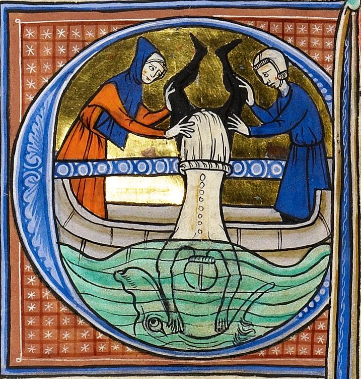 Jonah Cast into the Sea1270